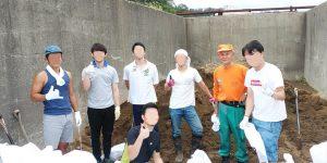 土のう作りメンバー